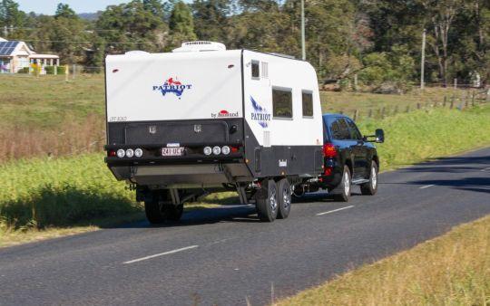 toyota crusier caravan